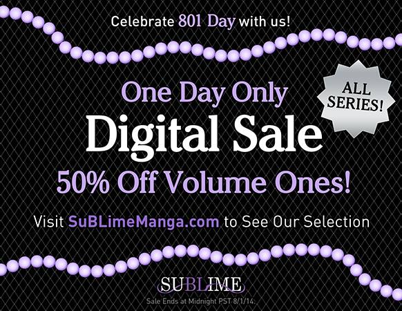 SuBLime Manga 801 Digital Sale